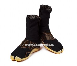 assaboots_alfa_black_yellow_2